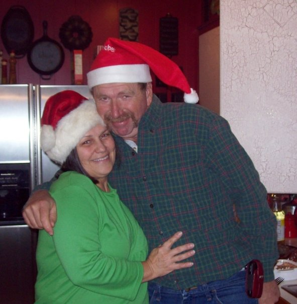 My parents celebrating Christmas a few years ago