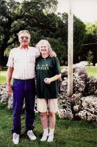 Kay and John Egan, 2001. Eternal lovebirds :).