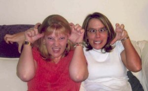Just being ourselves, circa 2004 maybe