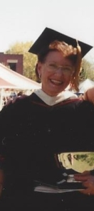 Teresa's mother, Madeline Norris Burns, receiving the Lyon College Friend of Education Award, 1999