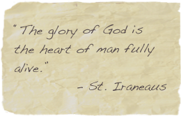 glory of God quote