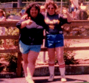 Dawn and me at Lake Compounce in Bristol, Connecticut in 1987.