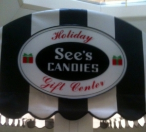 Bethany's Blog, See's Candy Display (2)